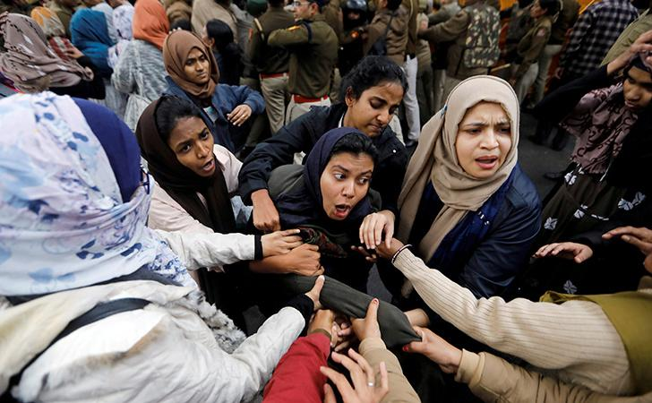 Police Atrocities On Students Protesting