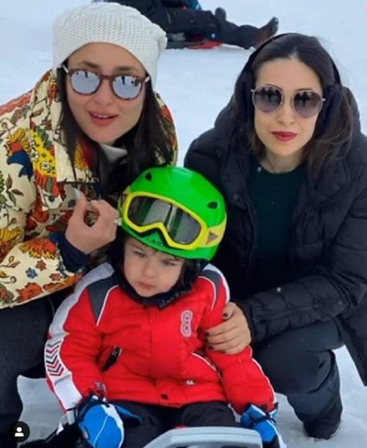 Saif and Kareena Switzerland vacation.