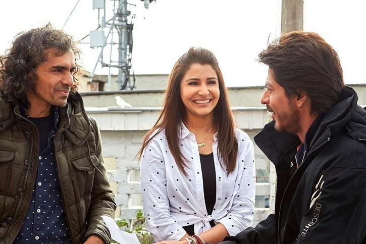 Shah Rukh Khan, Imtiaz Ali and Anushka Sharma in JabHarry Met Sejal.
