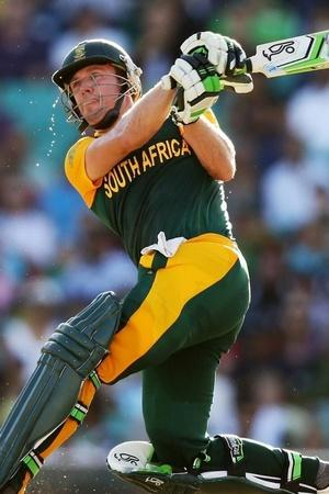 AB de Villiers made 162 not out