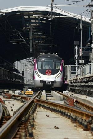 DMRC Delhi Metro Rail Corporation announcements Magenta Line regulation