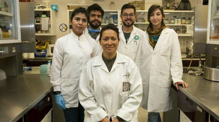 Dr Eva Ramón Gallegos (center) with her team / National Polytechnic Institute
