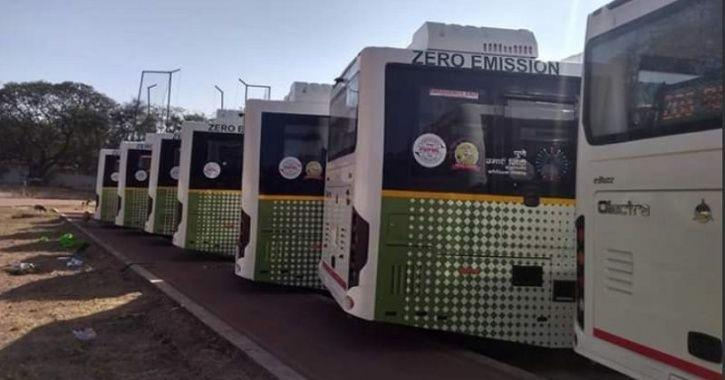 Electric Bus, Pune Electric Bus, Electric Vehicle India, India Electric Bus, Auto News