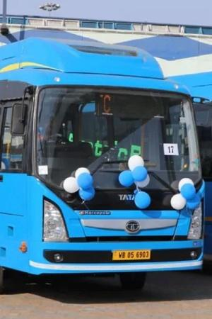 Electric Buses India Electric Buses West Bengal Transport Corporation Electric Buses Tata Motors