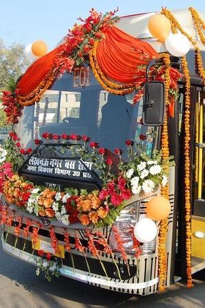 Electric Buses India Tata Motors Electric Bus Lucknow Electric Bus Electric Vehicles India Luckn