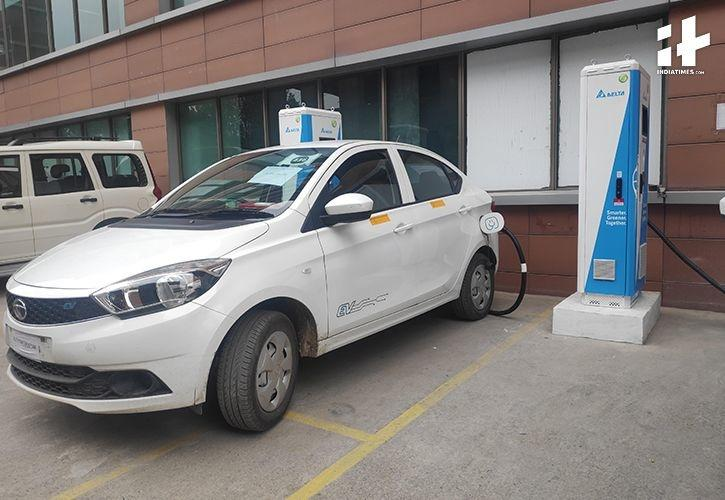 Electric Cars, Electric Chargers, Electric Vehicles, Electric Car Charging Station, Times of India,