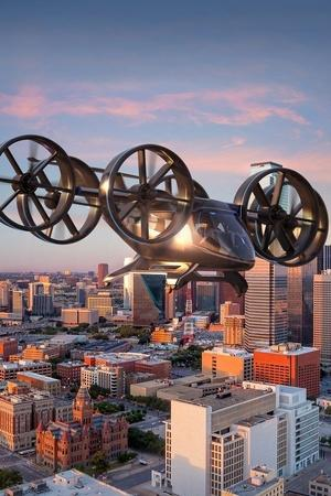 Flying Taxi Flying Cars Flying Pods Urban Air Mobility Uber Air Uber Elevate Audi Pop up Nxt