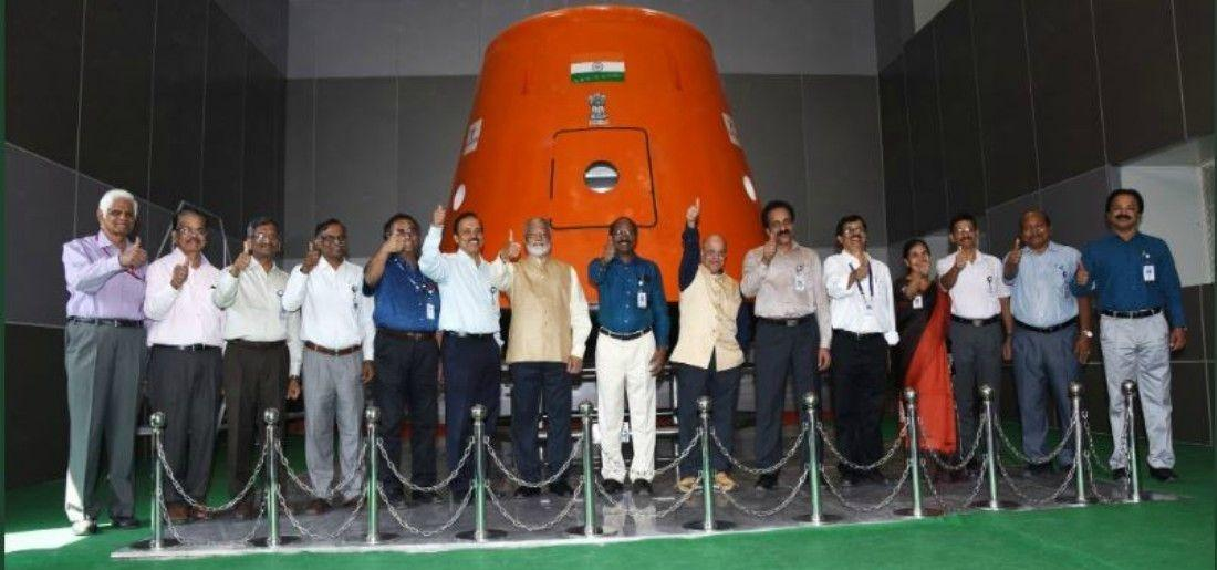 ISRO is taking help of the IAF to train 10 crew members of the country's first human space flight pr