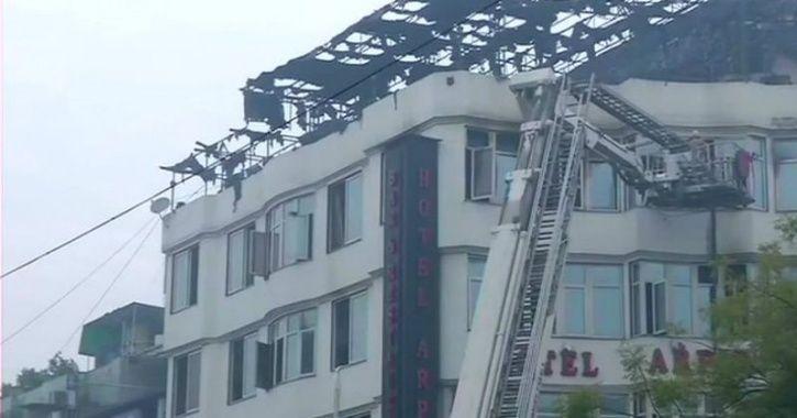 Karol Bagh Hotel Fire
