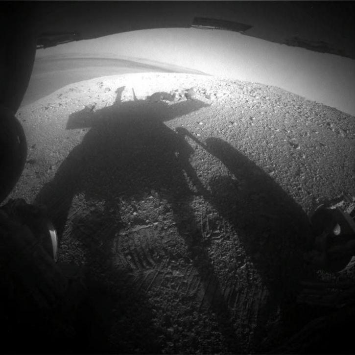 mars rover getting dark - photo #38
