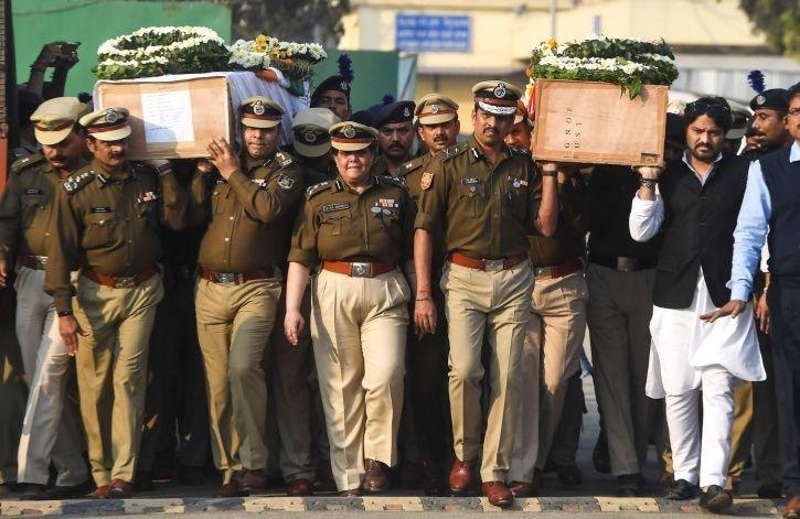 Martyred Sudip Biswas and Martyred Bablu Santra