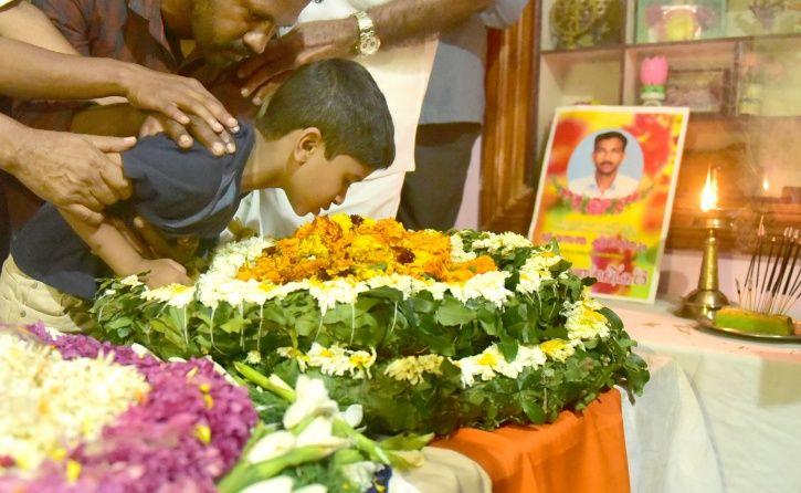 Martyred Vasanthakumar