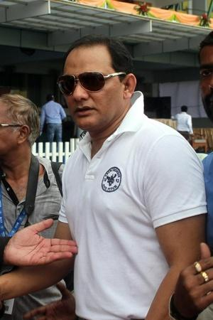 Mohammad Azharuddin made 93 not out