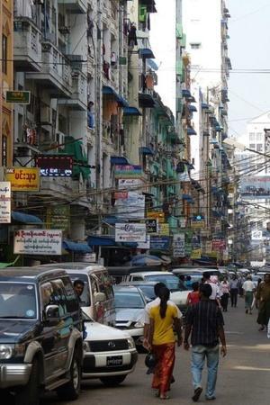 Myanmar Yangon ban on motorbikes military general traffic congestion policemen