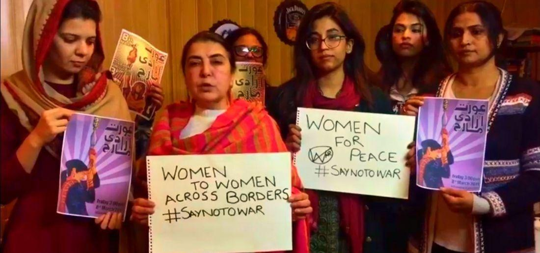 Pakistani Women Are Sending A Message Of Peace To Indian Women And Urging To Say No To War