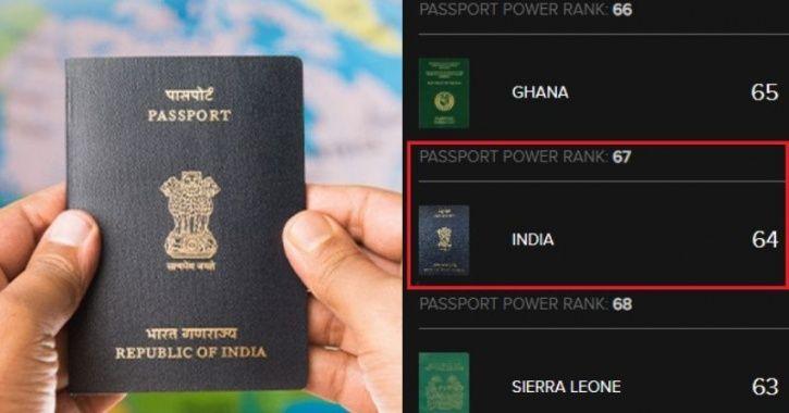 Indian Passport:Indian Passport Becomes Stronger, Climbs Up 10 Ranks