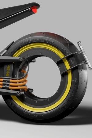 RKM E2 Electric Motorcycle Hubless Wheels Electric Bike Tron Legacy Bike Auto News