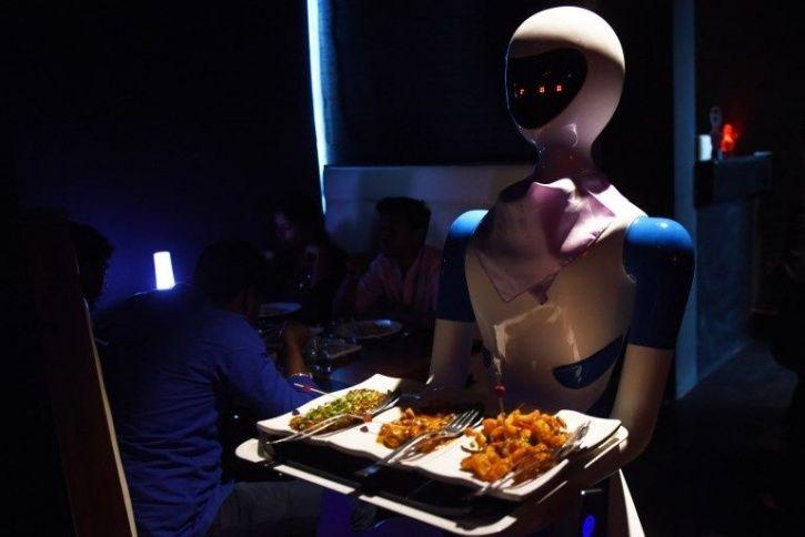 Robot:In This Chennai Restaurant, Robots Serve Food & Talk
