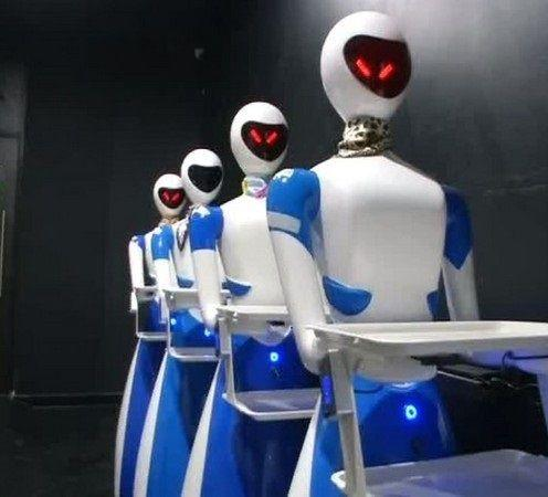 Robot:In This Chennai Restaurant, Robots Serve Food & Talk