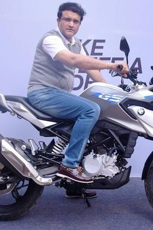 Sourav Ganguly BMW Bike