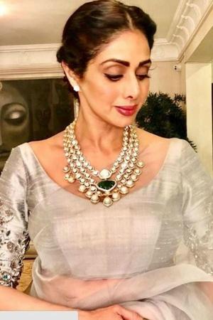 Sridevi Saree Sridevi Saree auction Parisera auction Boney Kapoor Jahnvi Kapoor Khushi Kapoor