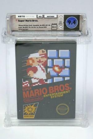 Super Mario Bros Original copy USD 100150 Nintendoauction Heritage Auctions of Dallas