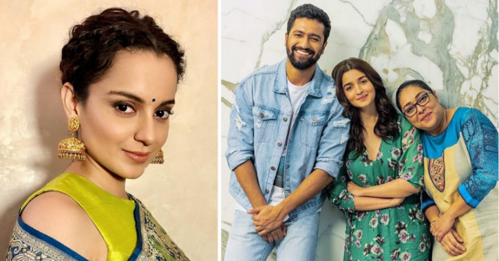 Taking A Jibe At Alia Bhatt, Kangana Ranaut Says Bollywood Never Stands Up For Her