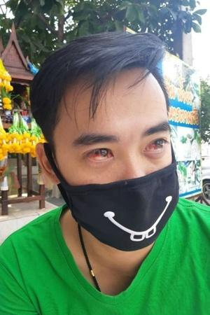 Thailand smog Thailand air pollution people bleeding coughing blood blood smog air pollution