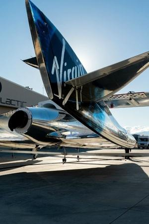 Virgin Galactic Richard Branson Space travel first passenger in space carrying people into space