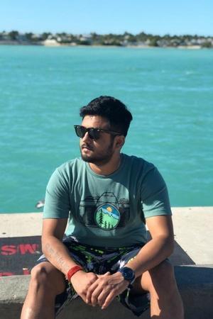 Viveik Patel Pulwama attack Virginia Facebook Fundraising CRPF Martyrs DIG
