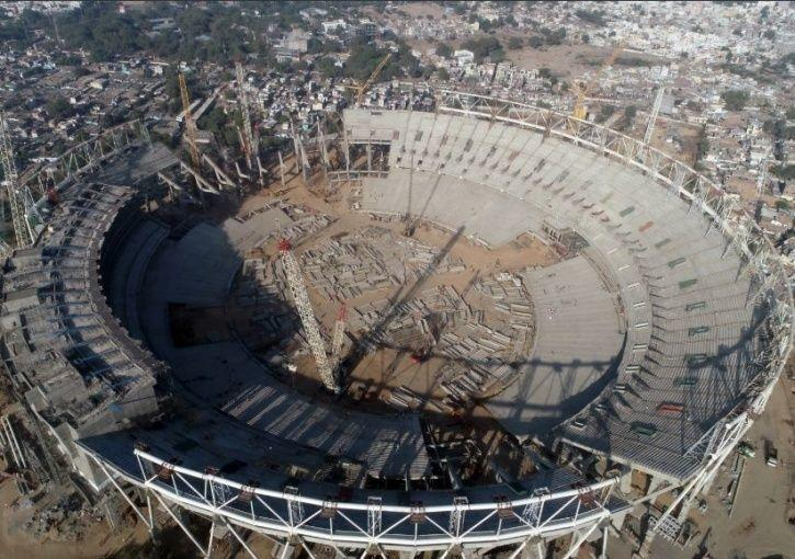 Ahmedabad cricket stadium:Motera Cricket Stadium In Ahmedabad With