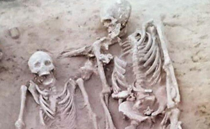 Image result for two skeletons in haryana