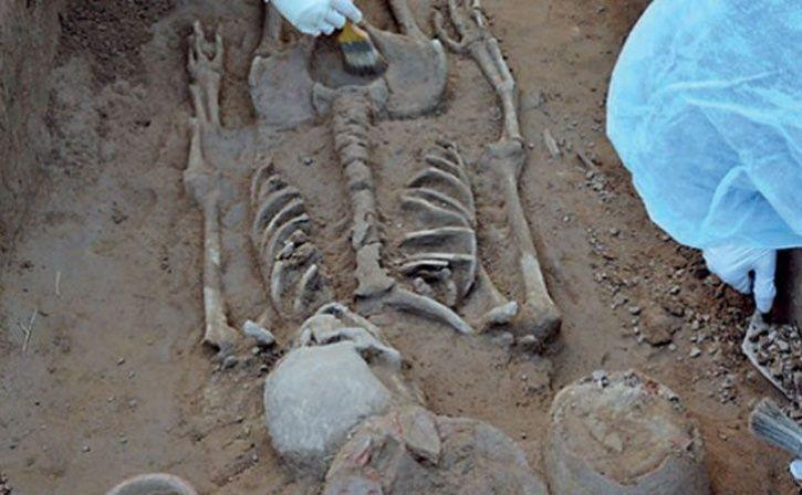Ancient Couple Found In Harappan Grave