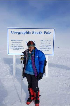 Aparna Kumar IPS DIG Indo Tibetan Border Police South Pole expedition