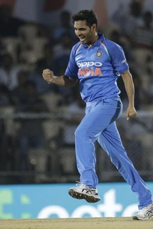 Bhuvneshwar Kumar took 4 wickets