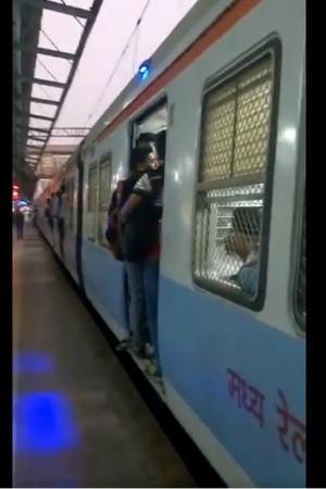 blue lights Mumbai local train accidents Piyush Goyal safety central railway