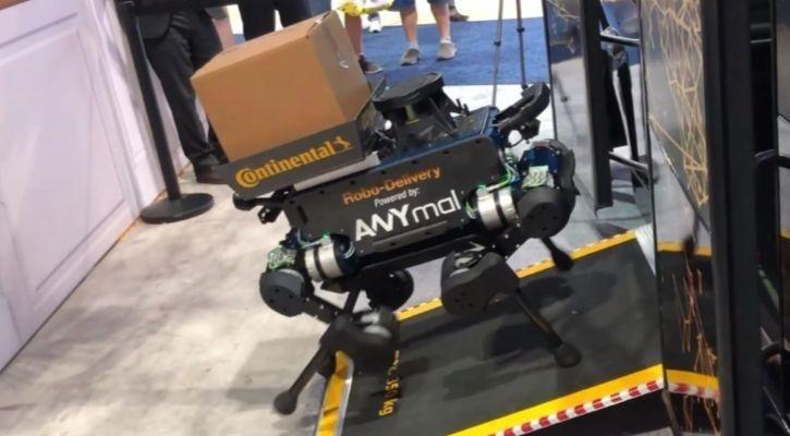 Continental robot dog