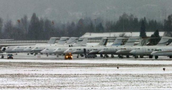 Irony Just Died Because 1500 Private Jets Took World Leaders To Davos To  Discuss Climate Change