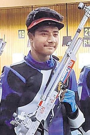 Dhanush Srikanth shooting
