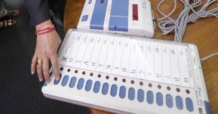 First EVM Voting