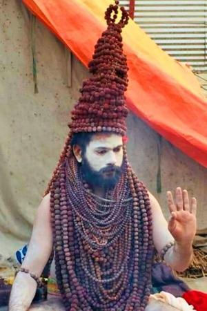 From Rudraksh Baba To Golden Baba These Sadhus In Quirky Outfits Are ShowStealers At Kumbh Mela 20