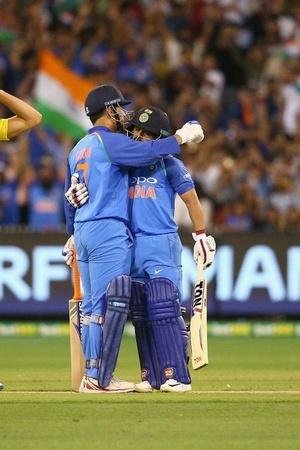 India won the series 21