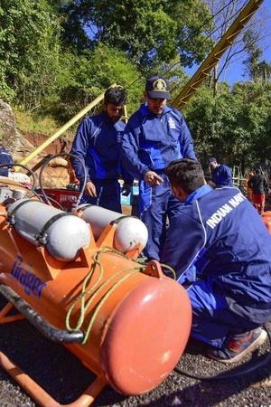 Indian Navy retrieval operation Meghalaya rat hole mining decomposed bodyConrad K Sangma