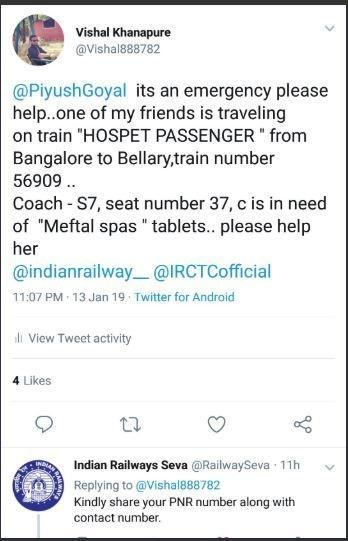 Indian Railways, sanitary napkin, Bengaluru, Bellary, female friend, Hospet train, Mysuru