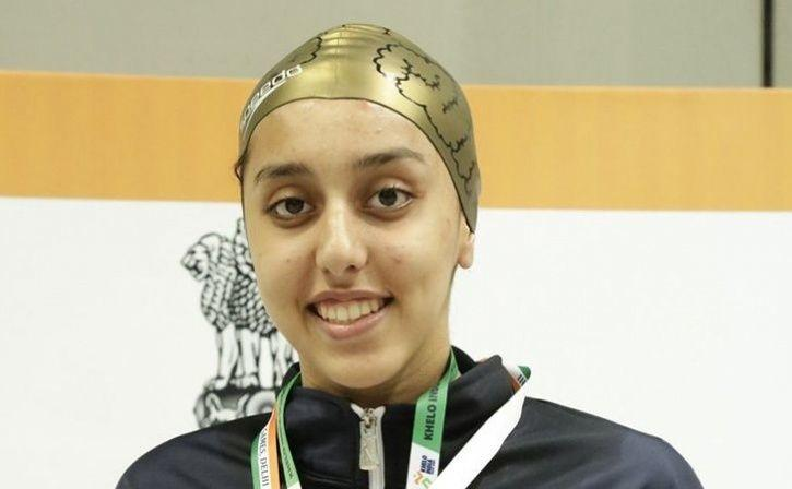 kenisha gupta won three gold medals