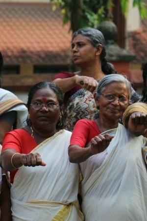 Kerala Sabarimala Sabarimala protest womens wall kerala wall of equality kerala kerala womens