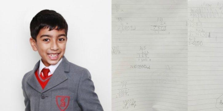 Leicester, United Kingdom, Indian origin boy, Arav Ajaykumar, MENSA, maths
