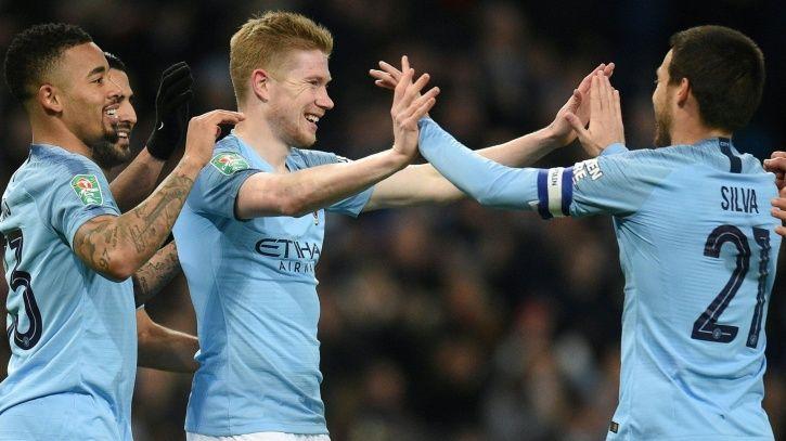 Manchester City won 9-0