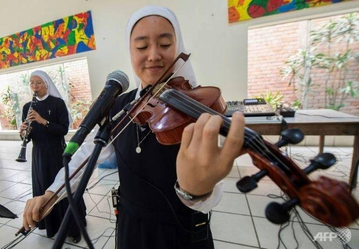 Meet The Young Nuns Who Will Be Playing Rock & Roll Christian Songs