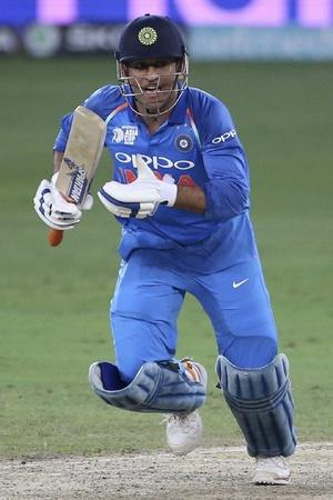 MS Dhoni is a fast runner